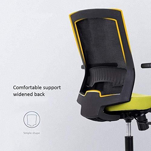 Kontorsstol, kontorsstol E-sport stol chef stol ergonomi svängbar skrivbordsstol datorstol hem lyft rotera knästol
