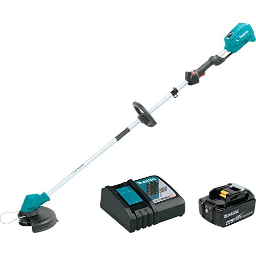 Makita XRU04M1 18V LXT Lithium-Ion Brushless Cordless String Trimmer Kit (Discontinued by Manufacturer) by Makita
