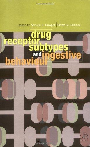 Drug Receptor Subtypes and Ingestive Behaviour by Academic Press