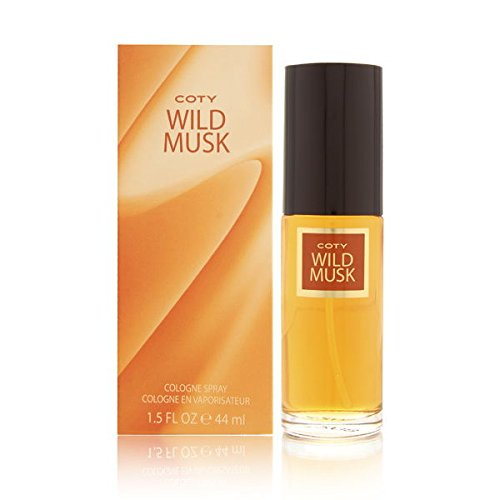 Coty Wild Musk By Coty For Women. Cologne Spray 1.5-Ounces (Coty Musk Wild Perfume)