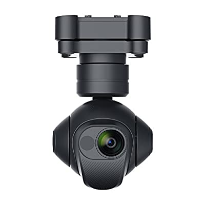 Yuneec YUNCGOETUS 3-axis, 360 rotating Gimbal with Infrared, Low Light & Thermal Imaging Camera, Black from Yuneec USA Inc.