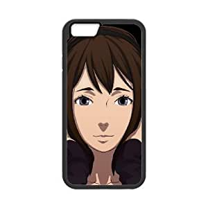HD exquisite image for iPhone 6 4.7 inch Cell Phone Case Black time of eve Popular Anime image WUP6772522