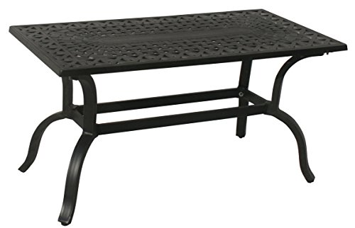 Oakland Living Hampton Rectangular Coffee Table, 41 by 21-Inch