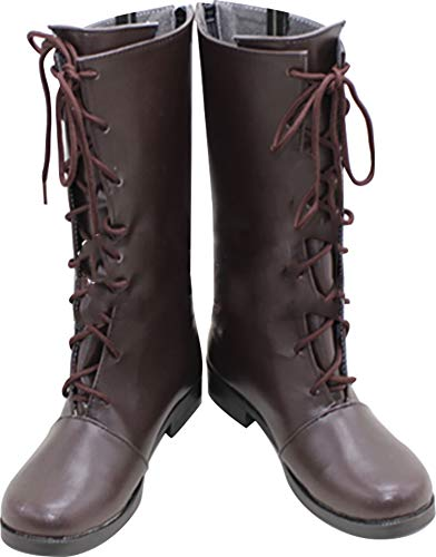 Mingchuan Whirl Cosplay Boots Shoes for Vampire Knight Kuran Yuki