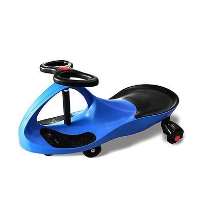 Twistcar Roller Twist Car Kids Ride On Wiggle Outdoor Play Swing Vehicle Blue
