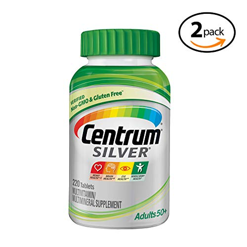 Centrum Silver Adult 220 Count (Pack of 1) Multivitamin...