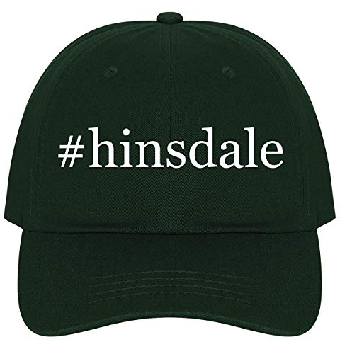 The Town Butler #Hinsdale - A Nice Comfortable Adjustable Hashtag Dad Hat Cap, Forest