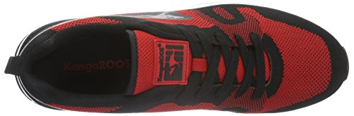Adulte Woven Omnicoil Multicolore Red Flame KangaROOS Basses Black Baskets 560 Mixte 5qnXBA
