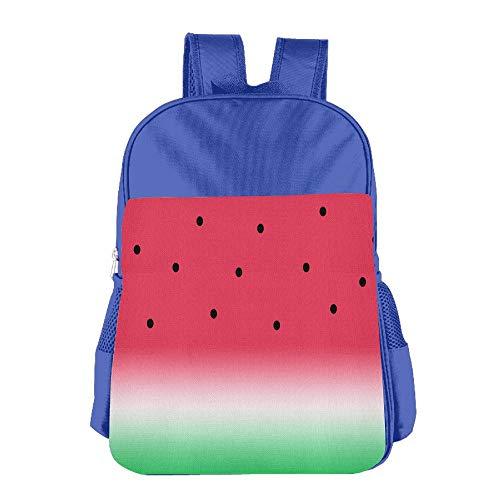 Clarissa Bertha Funny Watermelon Fruit Melon School Girls Boys Teens Backpacks Bags by Clarissa Bertha