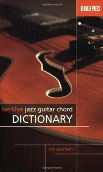 berklee jazz guitar chord dictionary review