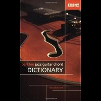 BERKLEE JAZZ GUITAR CHORD DICTIONARY book cover