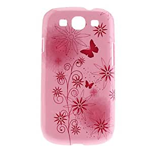 TOPQQ Butterfly Pattern Noctilucent Hard Case for Samsung Galaxy S3 I9300