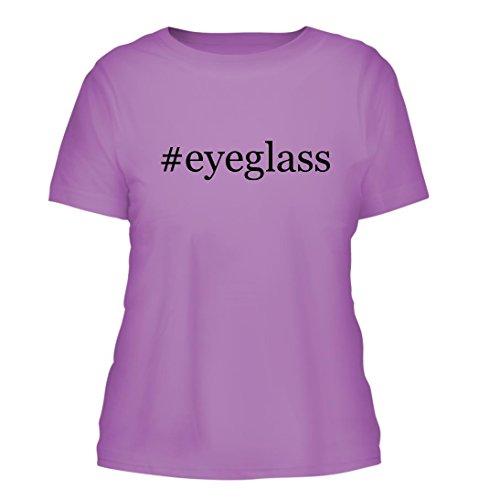 #eyeglass - A Nice Hashtag Misses Cut Women's Short Sleeve T-Shirt, Lavender, - Size Chart Eyeglass