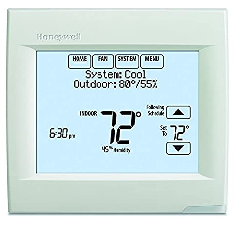 Honeywell TH8321WF1001 Wifi Vision Pro 8000 with Stages upto 3 Heat / 2 Cool (Pro Stages)