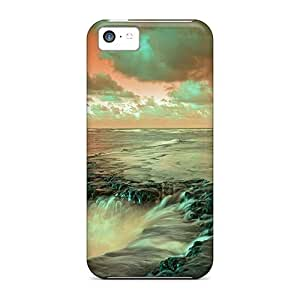 LJF phone case Anti-scratch And Shatterproof Water Nature Phone Case For ipod touch 4/ High Quality Tpu Case