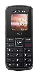 Alcatel One Touch 1010 negro, linterna, radio FM RDS, manos libres, linterna