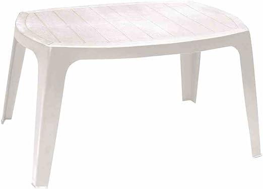 PRO GARDEN Progarden Kai Mesa Resina, Weiß, 49x76x43 cm: Amazon.es ...