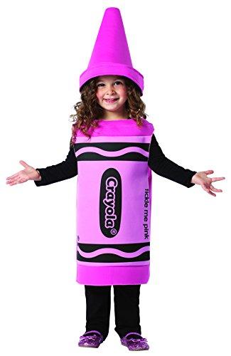 Rasta Imposta Crayola Tickle Me, Pink, 3-4T -