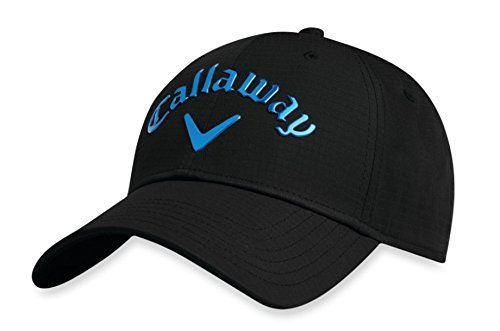 Callaway Golf 2018 Liquid Metal Adjustable Hat, Adjustable, Black/Blue