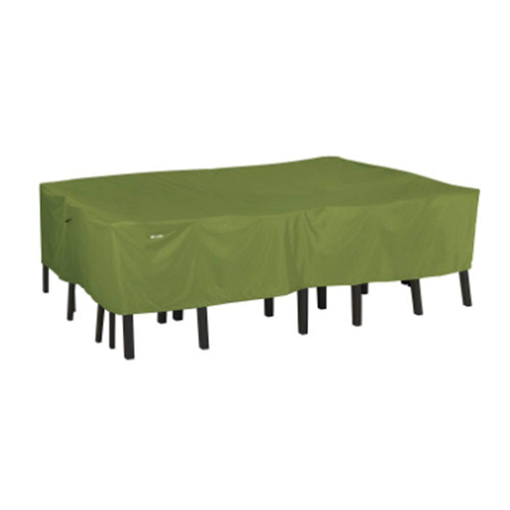 ZEMIN 家具 カバー 庭園 ターポリンタープ テーブルと椅子 屋外 保護 防塵の 防水 シェード オックスフォード布、 カスタマイズ可能、 2サイズ (色 : Green, サイズ さいず : 224x147x58cm) 224x147x58cm Green B07PYFH5HD