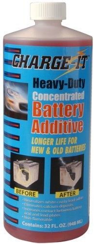 Solder-It Charge It Battery Additive Quarts, 32 fl. oz. (Battery Additive)