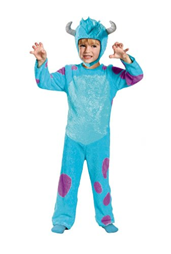 [Sulley Toddler Classic Costume - Toddler Medium] (Monster University Costumes)