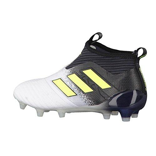 uk availability 632c5 84bf4 adidas Ace 17 Purecontrol Fg J, Zapatillas de Deporte Unisex Niños Blanco  Ftwbla  Amasol  Negbas