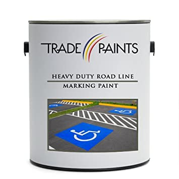 Heavy Duty Road Line Car Park Marking Paint (5 Litre, Yellow) Trade Paints