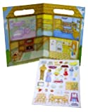 : Magnetic Play House Magnetic Play Board