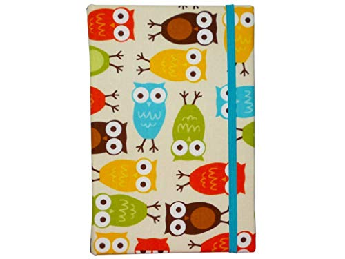 Hard Cover Case for Kindle Paperwhite, Kindle Fire 7, All-New Frontlight, Fire HD 8, Kindle Voyage, and Kindle Oasis, iPad Mini, Nook Glowlight Plus, Kobo Aura One, Samsung Galaxy Tab, Owls in Bermuda