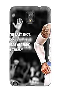 Hot Carmelo Anthony First Grade Tpu Phone Case For Galaxy Note 3 Case Cover