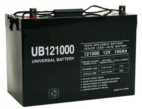 (Universal Power Group 12V 100AH SLA0079 SLA0090 SLA1185 SLA1187 SLA1188 AGM Battery)