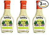 Annie`s Natural Dressing ,Lemon & Chive ,8 Fl oz, (Pack of 3)