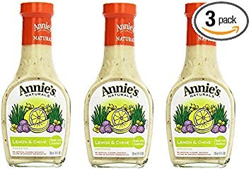 Annie`s Natural Dressing ,Lemon & Chive