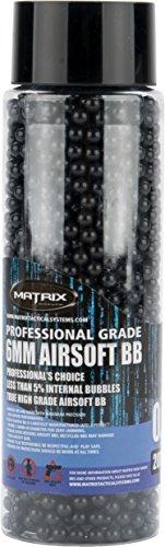 6 Mm High Gloss - Evike Matrix Match Grade Invisible 6mm High Perfromance BBs - 2000 Rounds (Weight: .20g)