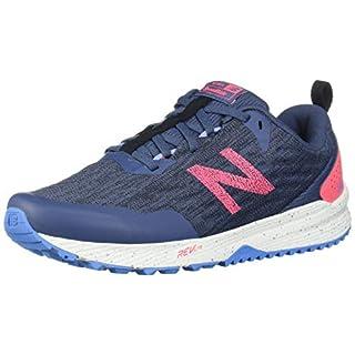New Balance Women's Nitrel V3 Running Shoe, Vintage Indigo/Guava, 9.5 M US