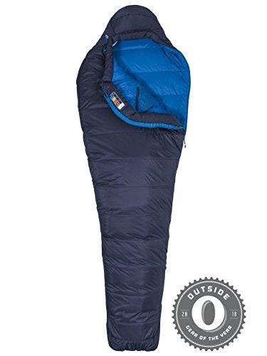 Marmot Ultra Elite 20 Sleeping Bag, Dark Steel/Lakeside, Reg 6ft 0in, 39360-1662-Reg: 6'0