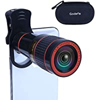 Godefa 12X Zoom Telephoto Cell Phone Camera Lens...