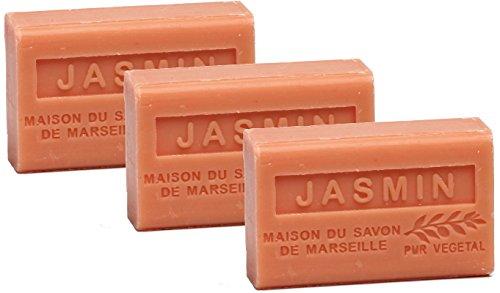 La Maison du Savon Organic Shea Jasmin (3 Pack)