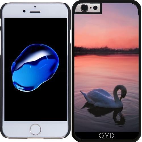 Coque pour Iphone 6 Plus (5,5'') - Cygne Sur Le Lac by Gatterwe