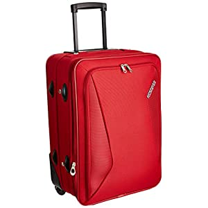 American Tourister India Columbia Polyester 55 cms Red Softsided
