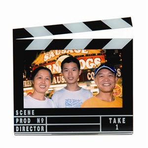 3.5'' x 2.5'' Clapboard Photo Magnet - Case of 144