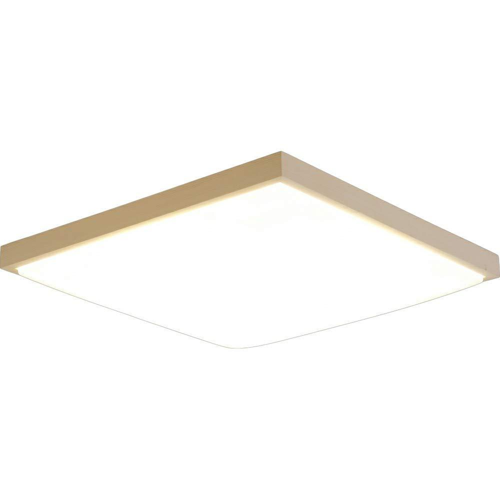 アイリスオーヤマ 和風LED シーリングライト天然木 角型 調光 調色 タイプ ~12畳 メタルサーキットシリーズ CL12DL-5.1JM 2)12畳 調光調色 B07KKBRL6N