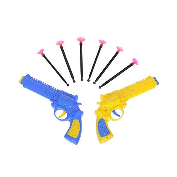 Aarushi Shoot Force Gun Toy – Blaster Gun with Darts