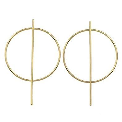 Nikita By Niki ® Small Geometric Hoop Earrings pftLN83PM