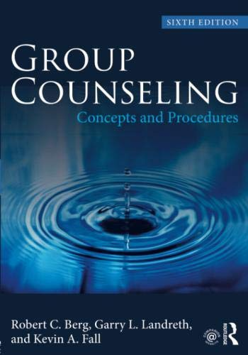 Group Counseling: Concepts and Procedures (Volume 1)