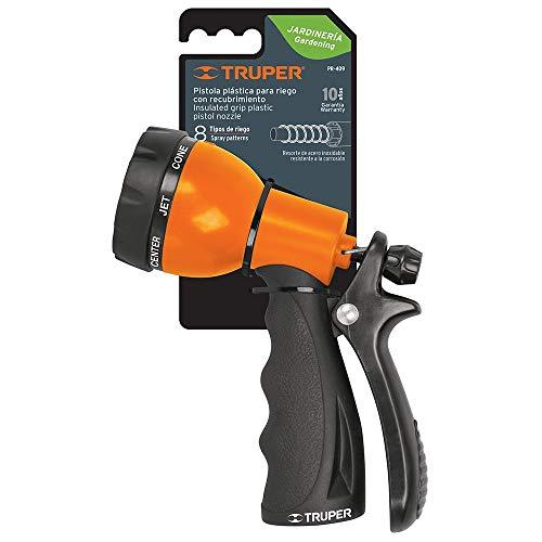 TRUPER PR-409 Soft Grip Poly Hose Nozzles 9-Pattern