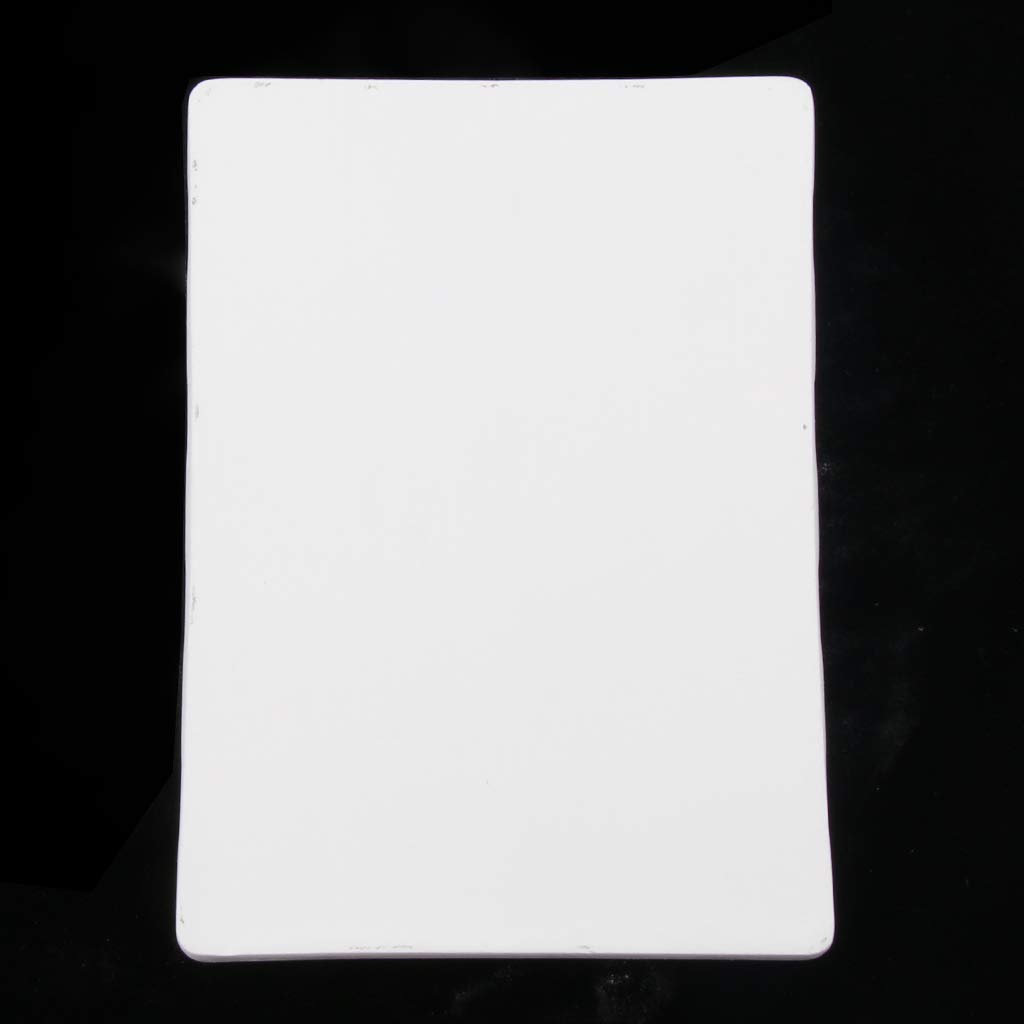as described White IPOTCH Rectangle Self-Dry Diatomaceous Earth Mat Bathroom Tools for Adults Children