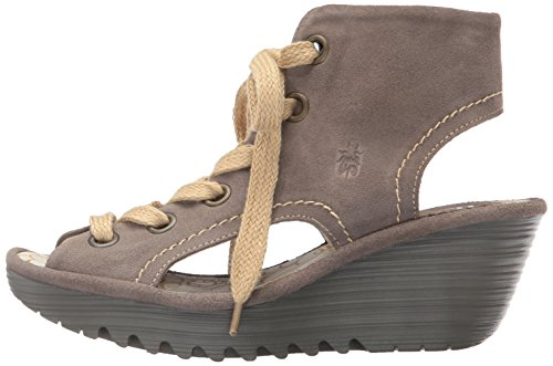 Pictures of FLY London Women's Yaba702fly Wedge Sandal Black 5