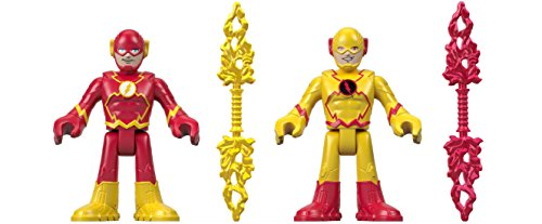 Fisher-Price Imaginext DC Super Friends, Flash & Reverse Flash (Reverse Flash Action Figure)